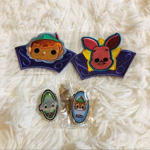 New Disney funko pins and patches